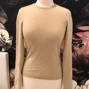 Cashmere TSE Tan sweater sz S